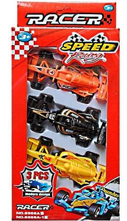 De Course 3 Voitures 1 Coffret Formule Jouet Figurine srdxQhCotB