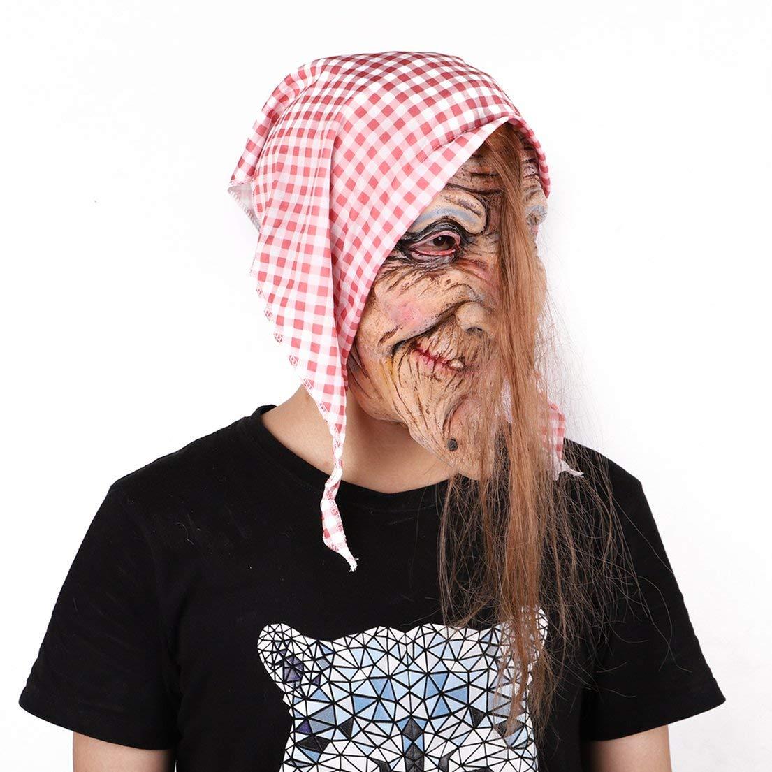 DFH Máscara de Halloween Disfraz de terrorista Bola Demonio ...