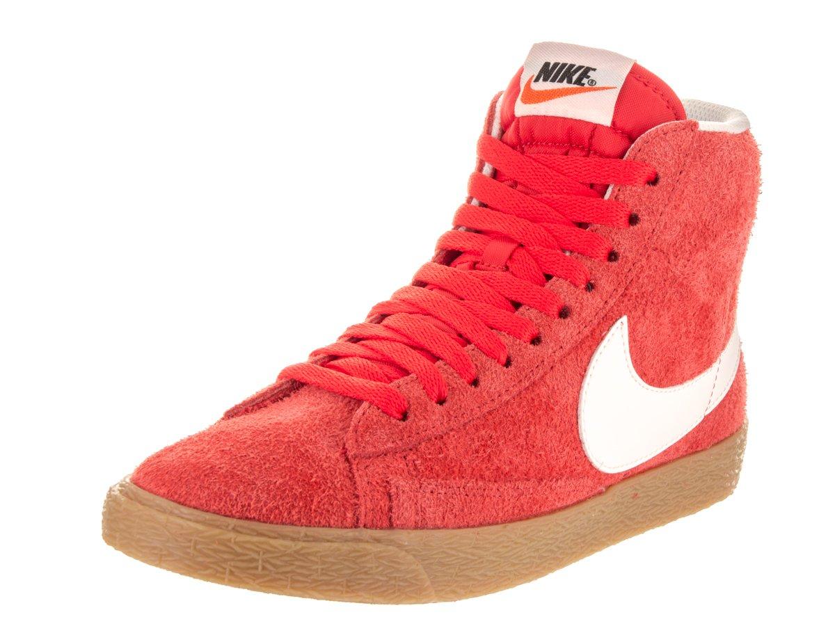 Nike Women's Blazer Mid Suede VNTG Max Orange/Ivory Casual Shoe 6.5 Women US