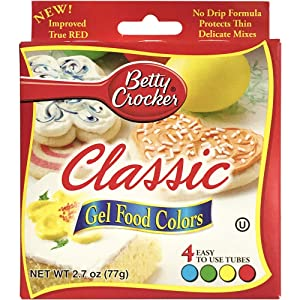 Betty Crocker Food Coloring Gel, 2.72 oz
