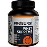 Proburst Whey Supreme - 1kg (Cookies & Cream)