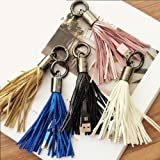 Key Chain Charging Cable Tassel for iPhone 5 6 7