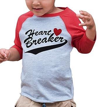 Amazon Com 7 Ate 9 Apparel Kids Heart Breaker Happy Valentine S Day