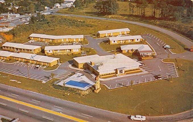 High Point North Carolina Furniture City Motel Vintage Postcard