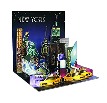 Amazon 3d greeting card nyc all occasion office products 3d greeting card nyc all occasion m4hsunfo