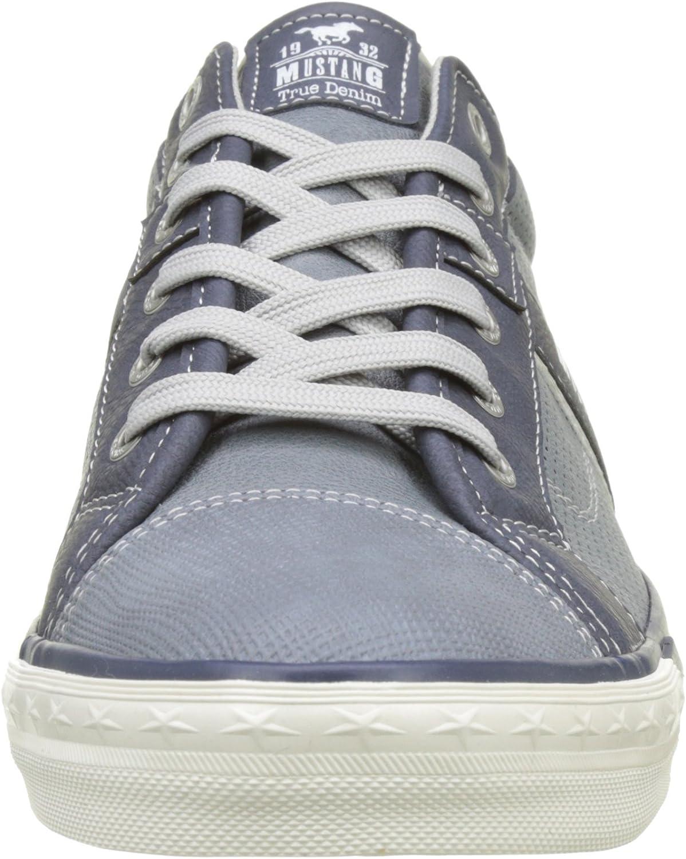 Mustang 1146-302-875, Sneakers Basses Femme Blanc Weiß 1