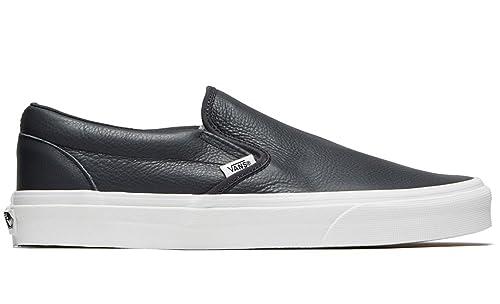 van slip on leather black