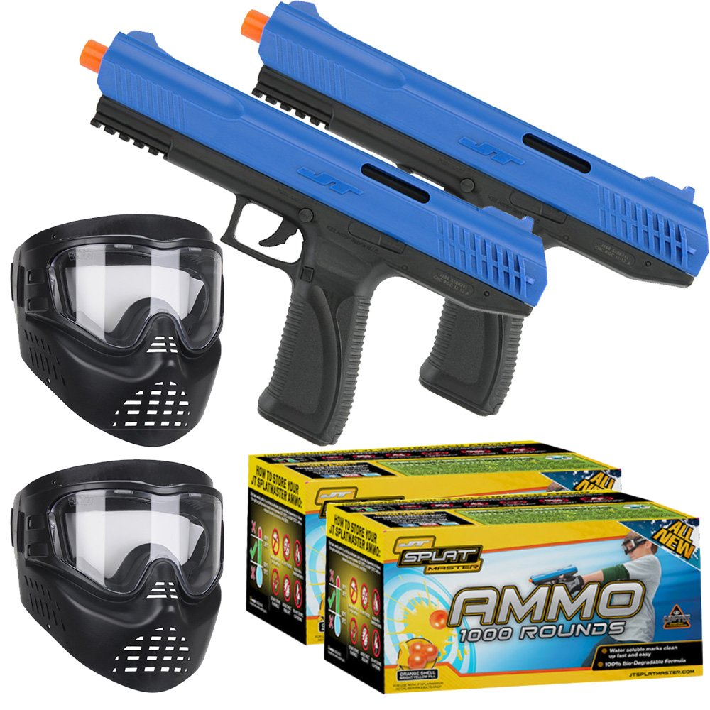 JT SplatMaster z100 Duel Kit - SplatMaster Ammo 1000ct. by JT