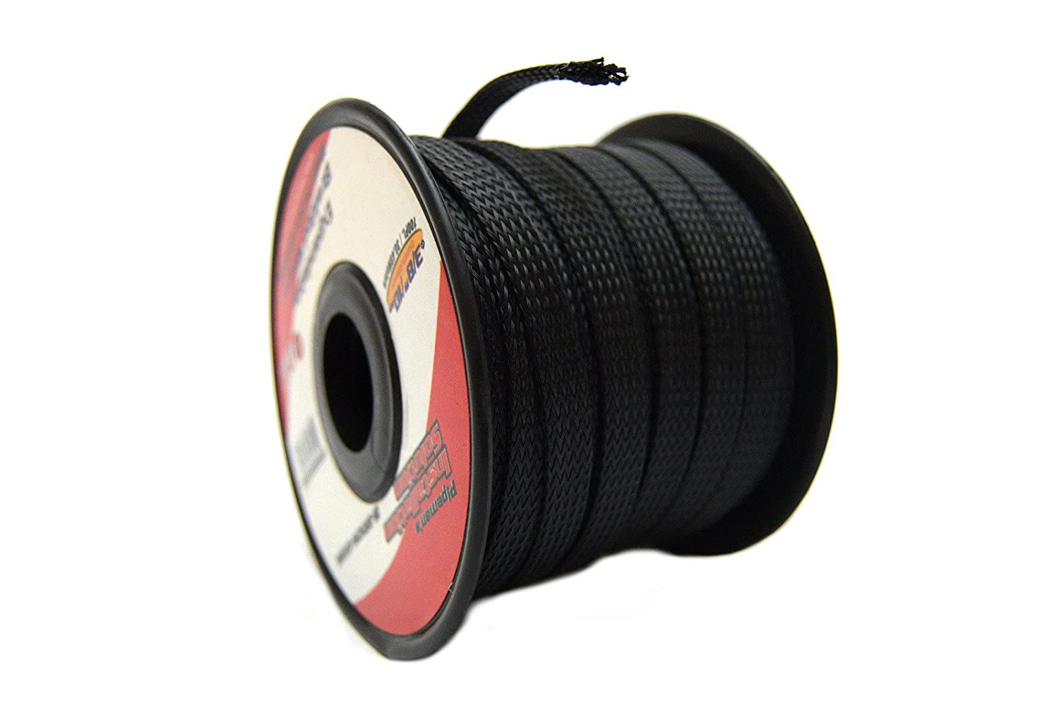 Pipemans Installation Solution Wire Harness Sleeving Black 3 8 100ft Braided Expandable Flex Sleeve Wiring Loom Cover