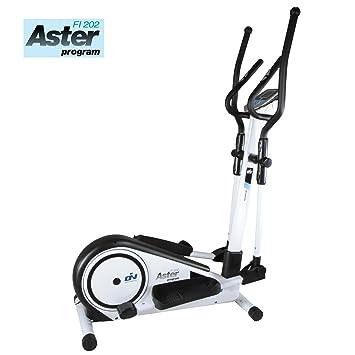 Elíptica Aster Program FI202 by ION fitness. 19 programas predeterminados. Blanca. Zancada 33cm