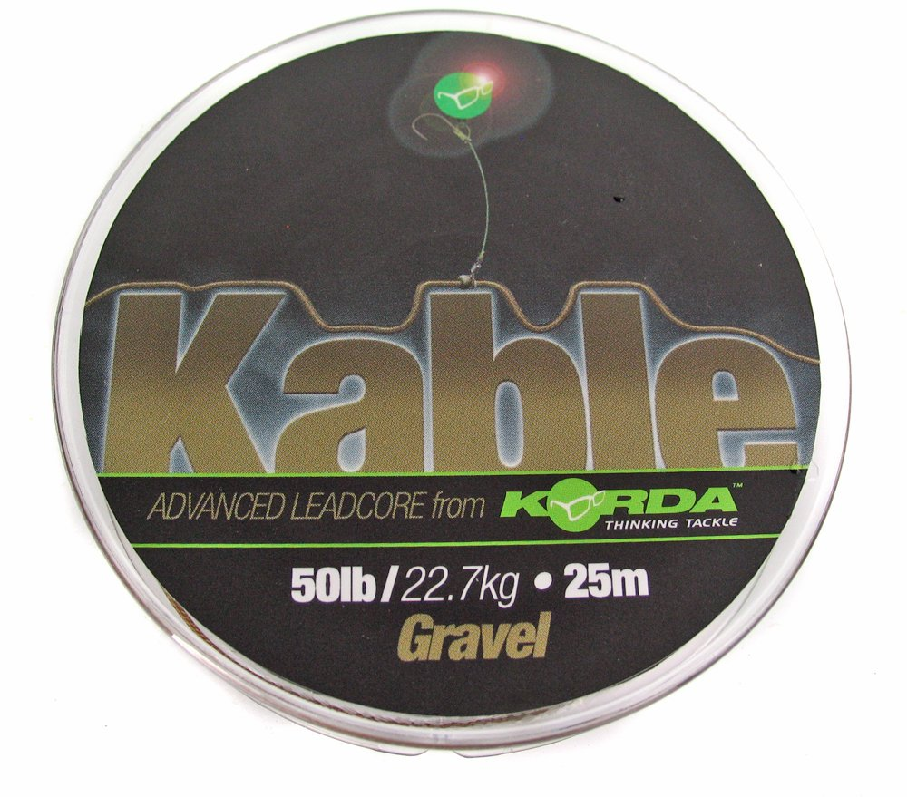 Korda Kable Leadcore - 20m Weed/ Silt KABWG