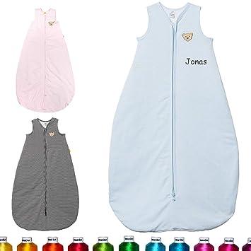 Babyschlafsack Personalisierbar Gr.90 Bestickt nach Wunsch NEU Baby Schlafsack
