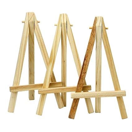 TRIXES Mini cavalletti in legno da 6\