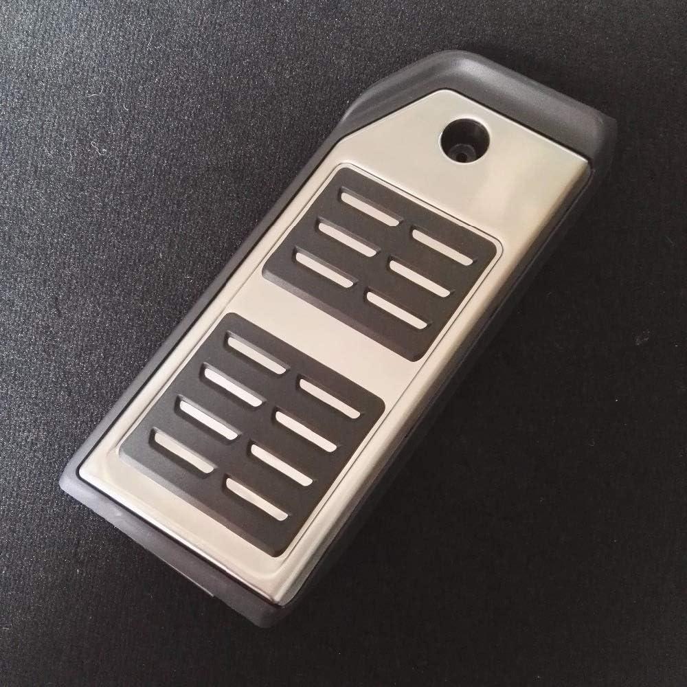Color Name : FOOTREST Pedal 1 PCS MQEIANG P/édale for Volkswagen VW Touareg 2020 2019 LHD Carburant p/édales de Frein Repose-Pied at p/édale de Frein dacc/él/érateur Plaque Pads