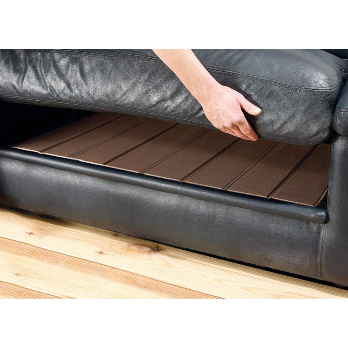 Rectificador sof/á 2/plazas marr/ón PVC 110/x 48/cm