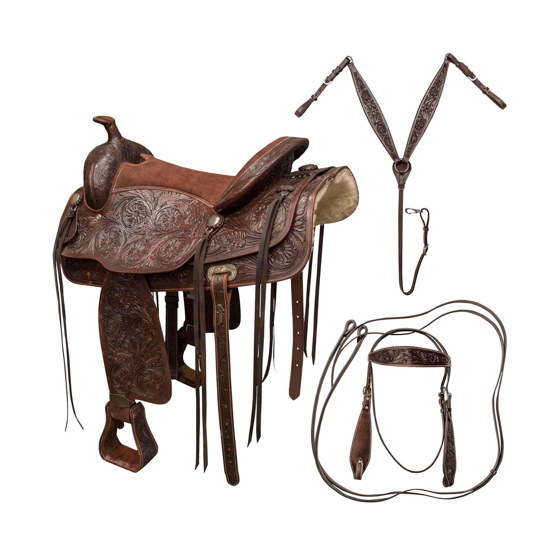 Buffalo Outdoors 16 inch Western Saddle