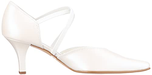 557bee5a996c Gabor Shoes Bridal Shoes Womens White Weiss (off-white+Absatz) Size  2.5  (35 EU)  Amazon.co.uk  Shoes   Bags