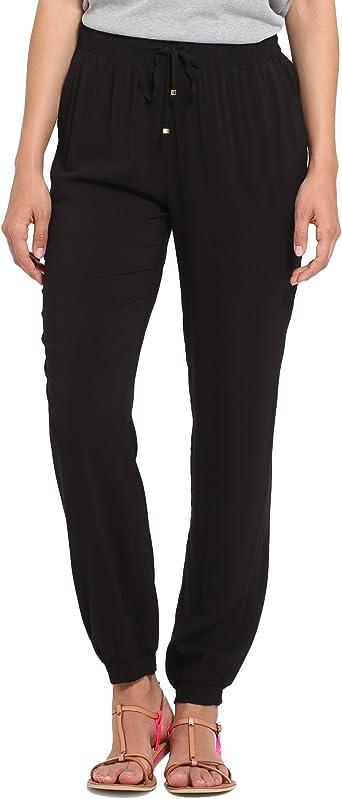 Berydale Pantalones De Tela Suaves De Mujer Amazon Es Ropa Y Accesorios