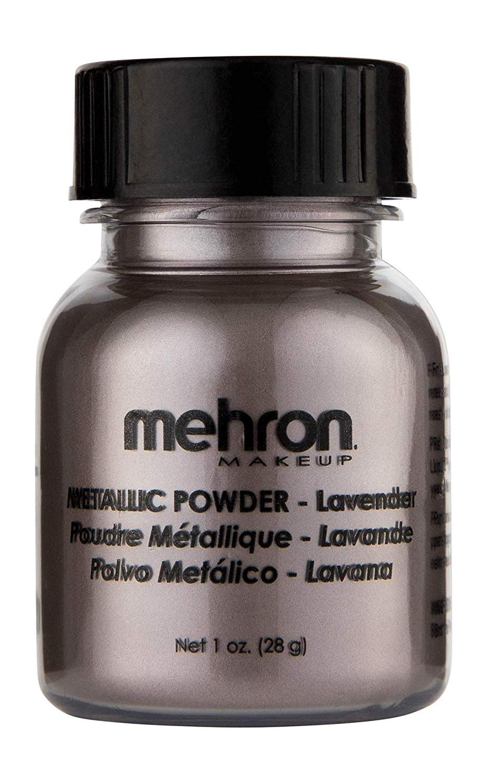 Mehron Makeup Metallic Powder (1 oz) Lavender)