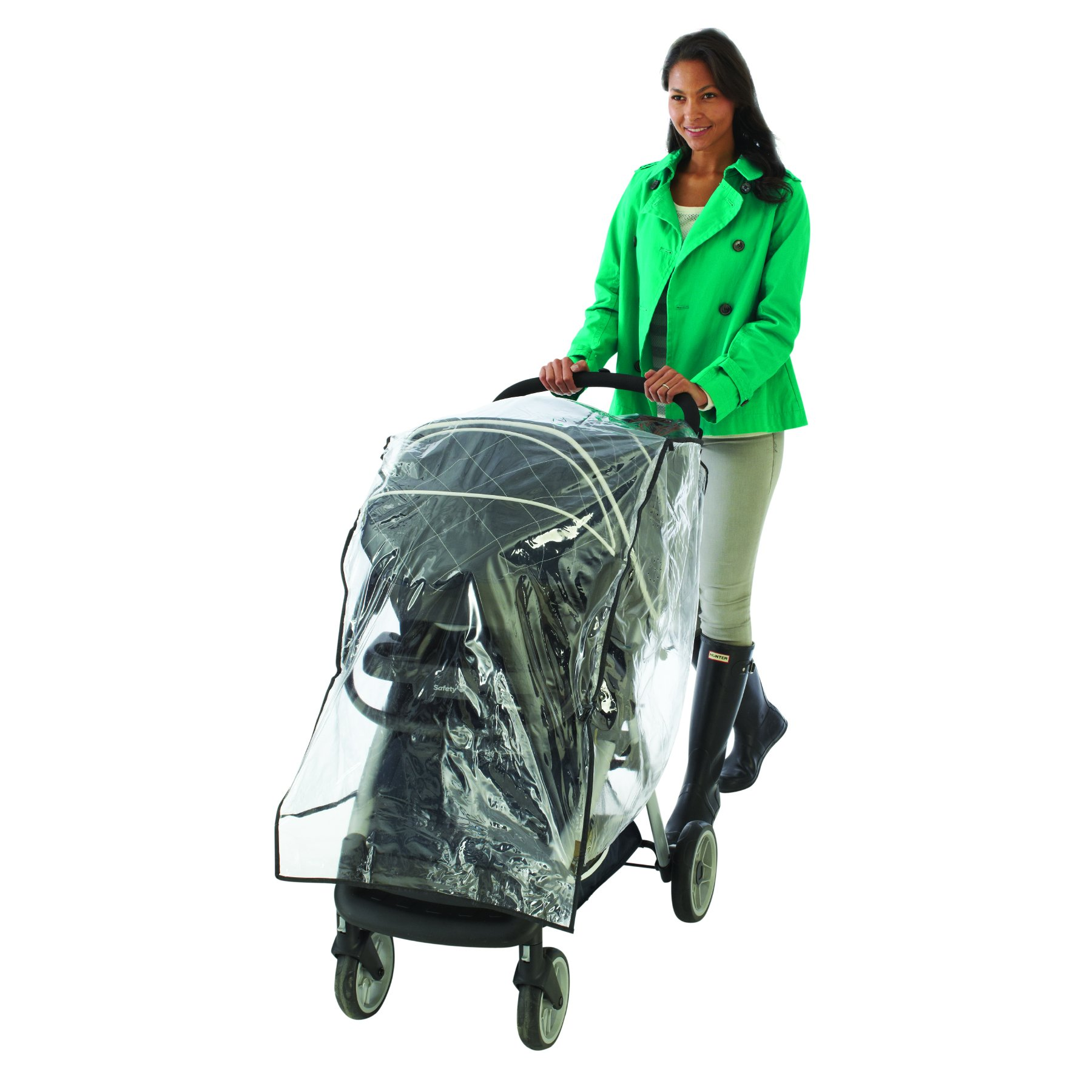 Nuby Travel System Weather Shield, Clear, Plastic