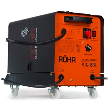 R?hr Welder DC Gas MIG Flux Draht 150?Amp (mig-150r-04): Amazon.de ...