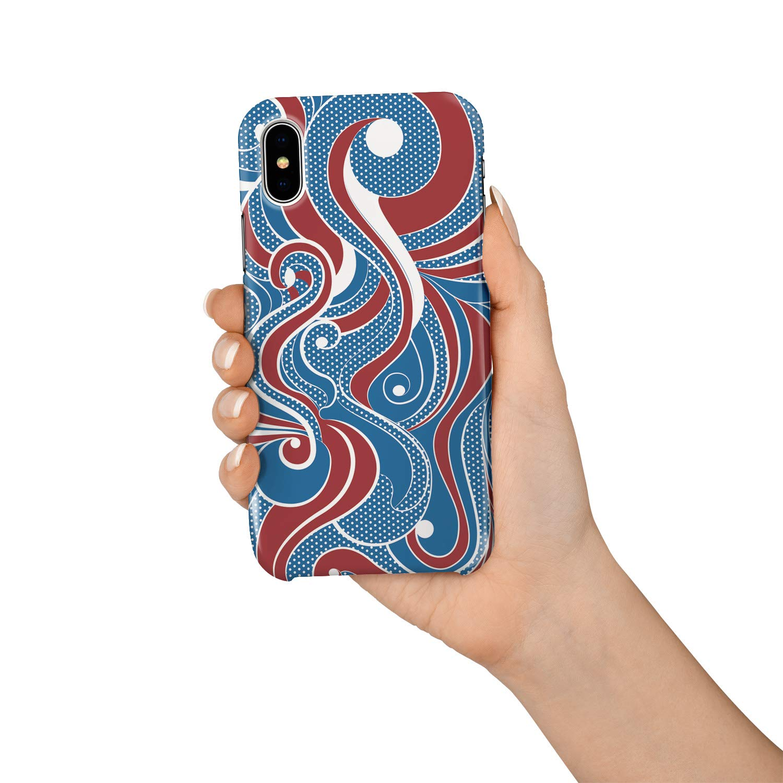 Amazon.com: Funda para pintura a mano, diseño geométrico ...