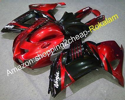 Hot Sales,ZX-14R Carenado Rojo Negro Cuerpo para Kawasaki ...