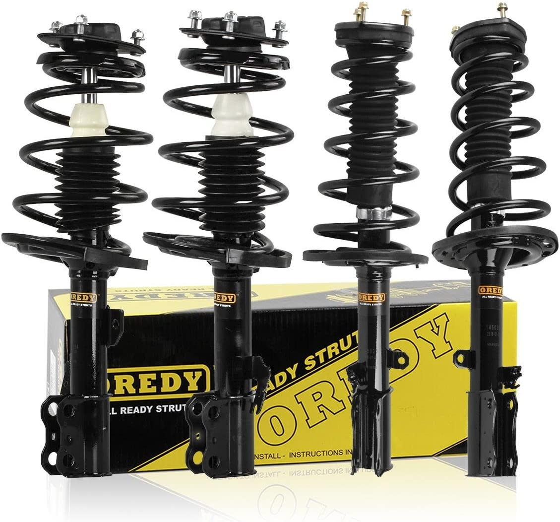 FWD Front Left fits Focus Suspension Strut and Coil Spring Assembly-SE GAS