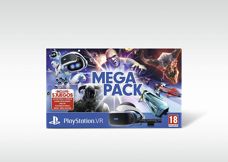 Mega Pack VR (PS4) + Bigben Soporte PS VR con Licencia Oficial (PS4): Amazon.es: Videojuegos