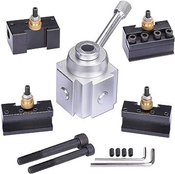 Aluminium Material Mini Quick change tool post and holder 5PCS//SET