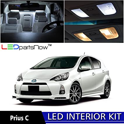 lights prius accessories led com dp ledpartsnow kit toyota package pieces amazon interior replacement