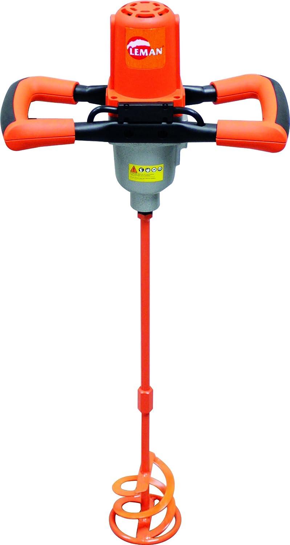 Leman LOMAX120 - Agitador de la caja de cambios de 2 velocidades, 120 mm, 1200 w