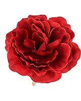 Love Sweety Women Girls Flower Hair Clips Hairpins Flower Brooch