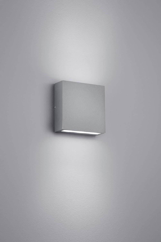 Trio Leuchten LED Au/ßenleuchte Thames 229360231 2 x 3 Watt Aluminium wei/ß