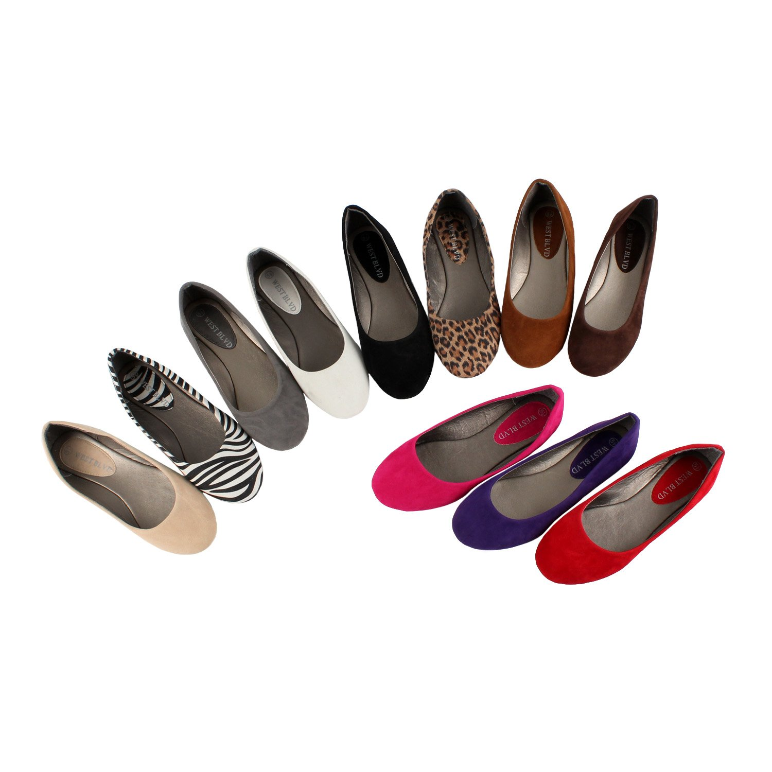 West Blvd Women's Ballet Flats...