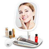 Deals on Sguten 10X Magnifying LED Lighted Makeup Mirror