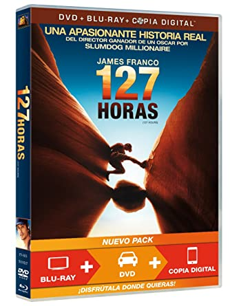 127 Horas Dvd Br Copia Digital Amazon Es James Franco Kate Mara Amber Tamblyn Clemence Poesy Treat Williams Danny Boyle James Franco Kate Mara Cine Y Series Tv