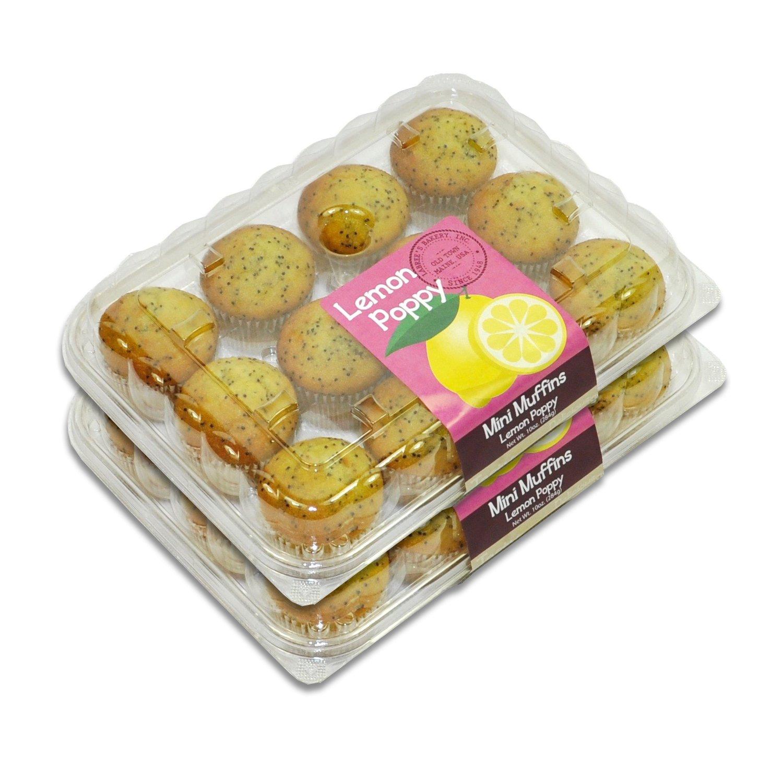 Mini Muffins - 2 Packages (Lemon Poppy)