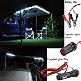 QiLi Rope Lights for Car LED White Color Hight