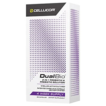 Amazon.com: Cellucor DualBio Prebiotic & Probiotic ...