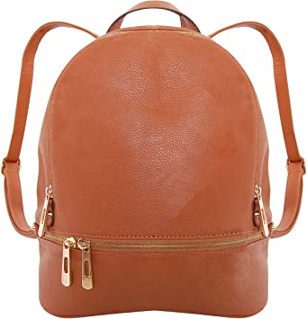 Women Natural Leather backpack Rucksack Shoulder bag Bridesmaid gift Mothers day gift Wedding gift Anniversary gift Birthday Gift