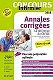 Concours Infirmier 2018 Annales corrigées: Ecrit et Oral - La référence du CEFIEC