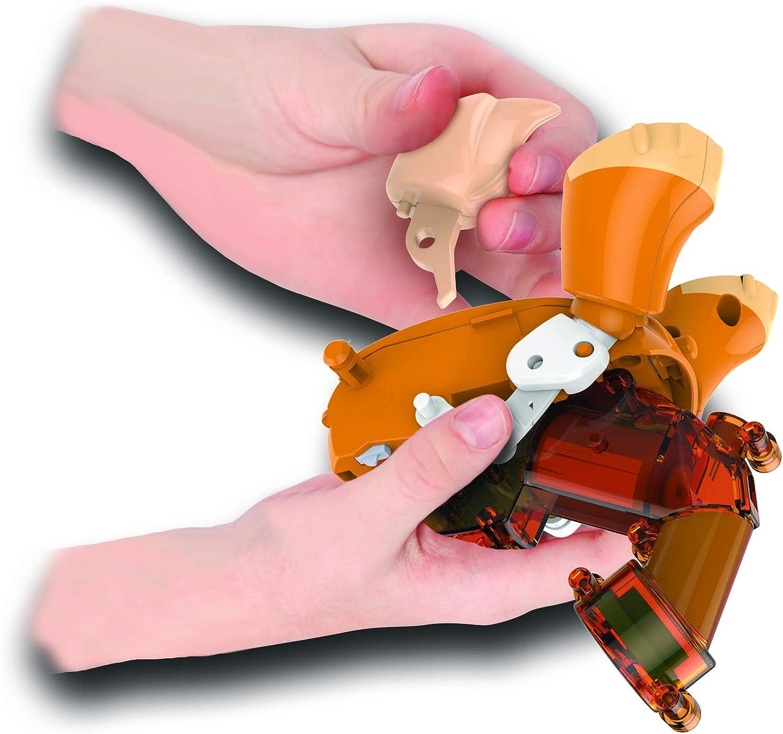 Build a Bot Mini Pink Inchworm Robot Pet Click /& Create System 10 Pieces New