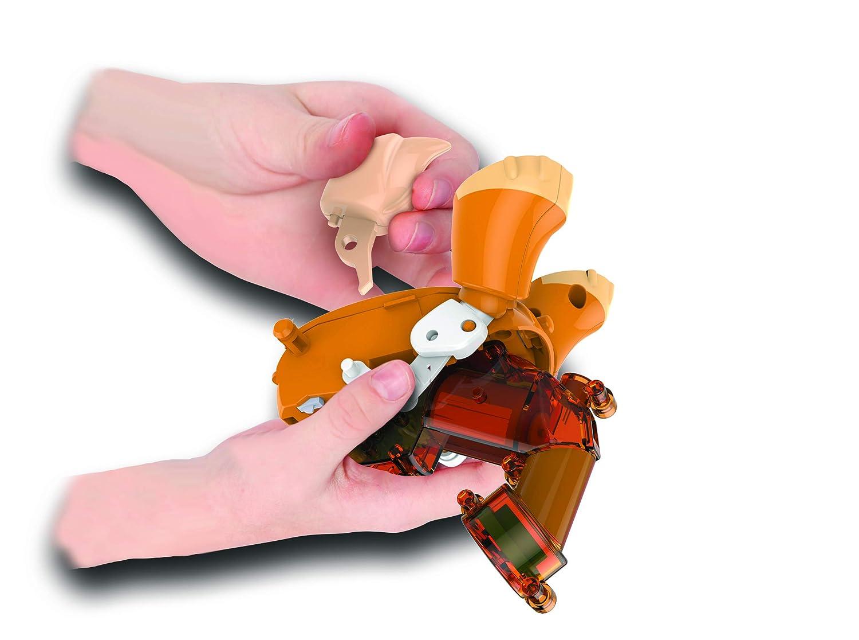 Basic Fun Build A Bot Puppy Robotics Kit Multicolor Kits Electronics Toys For Kids Snap Circuits Jr Sc 100 Amazon Canada