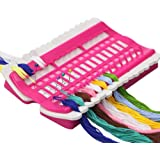 D&D Floss Organizer Cross Stitch Kit Embroidery Thread Project Card 30 Positions Sewing Needle Pins Holder Craft Tools Accessory