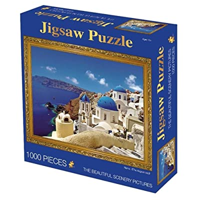 Adult Children Puzzle Toy Museum Collection Famous Painting Jigsaw Puzzle Puzzle, World Masterpiece Series, Classic 1000 Pieces Boxed Photography Toys Game Art for Adults & Kids (Color : X): Toys & Games