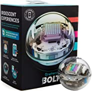 Sphero BOLT: App-Enabled Robot Ball with Programmable Sensors + LED Matrix, Infrared & Compass - STEM Educational Toy for Kid