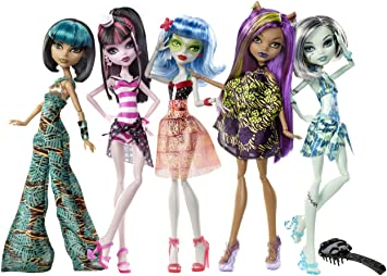 Amazon.es: Mattel - Juego de imitación Ghoulia Yelps Monster High ...