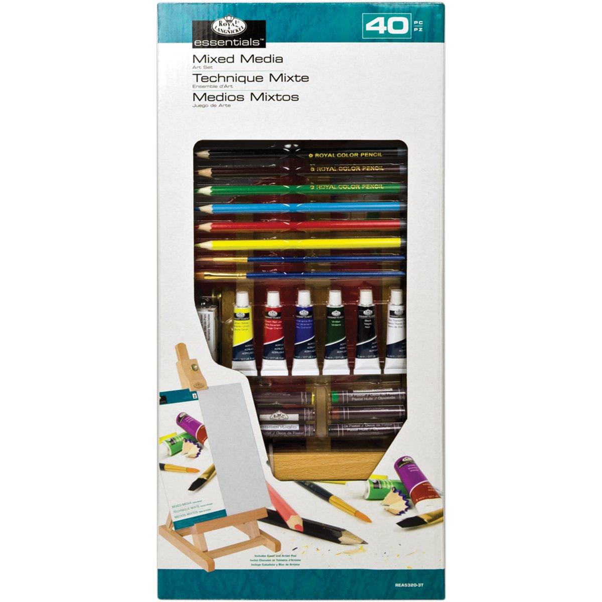 Royal & Langnickel Peinture Chevalet enH Taille S Peintures diverses Multicolore REA5320-3T