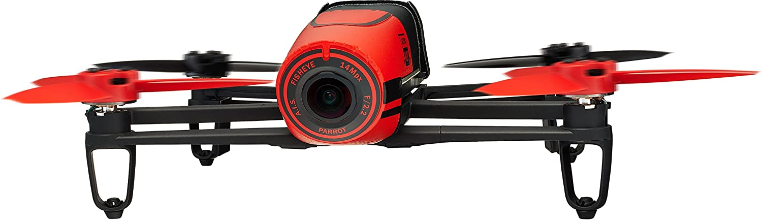 Parrot BeBop Drone 14 MP Full HD 1080p Fisheye Camera Quadcopter Red Amazonca Photo